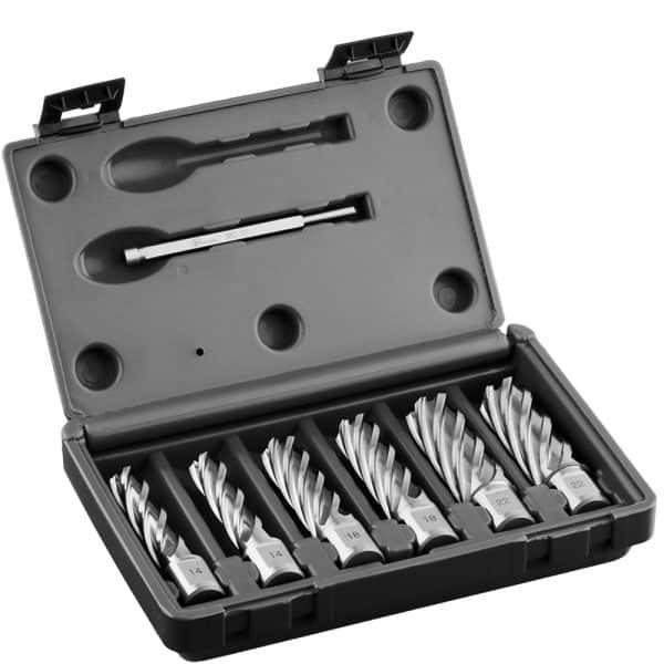 HCL.KIT Euroboor HSS Annular Cutters Sets - Carbide Drill Bit Set