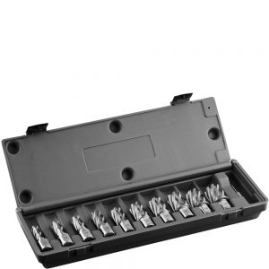 HCS.KIT-10 Euroboor HSS Annular Cutters Sets - Carbide Drill Bit Set