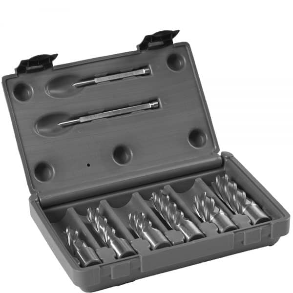 HCS.KIT-9 Euroboor HSS Annular Cutters Sets - Carbide Drill Bit Set