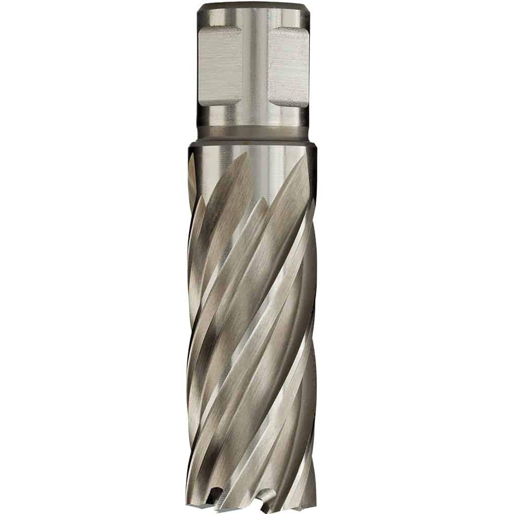 """6pc Set Annular Cutter Cobalt 3//4/"""" Weldon Shank 9//16 1-1//16 Magnetic Drill Bit"""