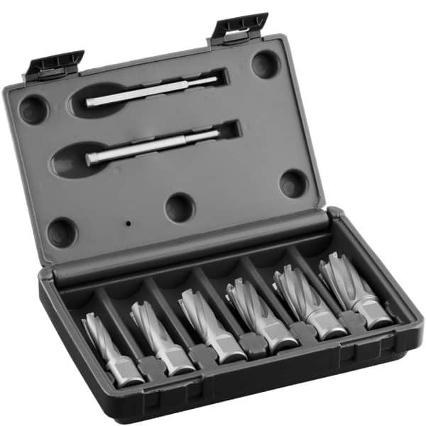 TCT.KIT Euroboor TCT Annular Cutter Sets - Carbide Drill Bit Set